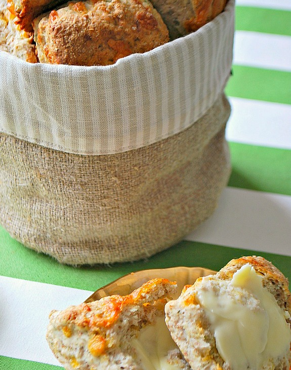 Cheesy Irish Soda Scones 2