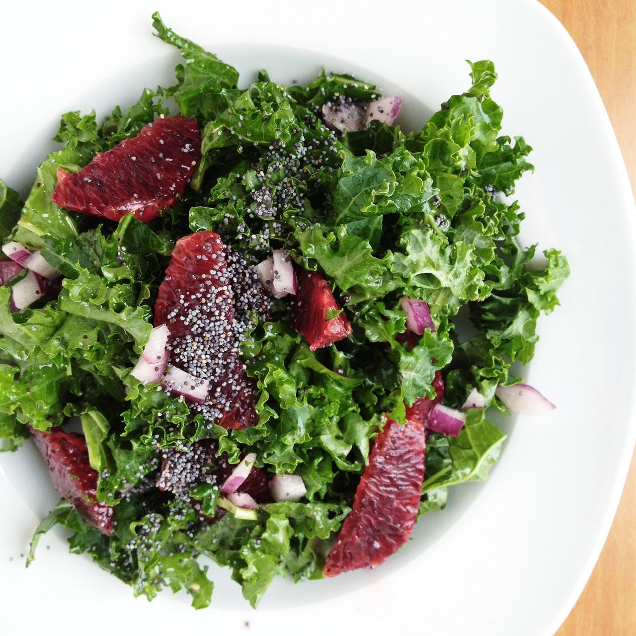 Berry And Bacon Kale Salad With Blackberry Jam Vinaigrette Recipes ...