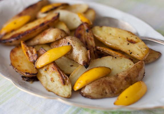 roast potatoes with lemon-1