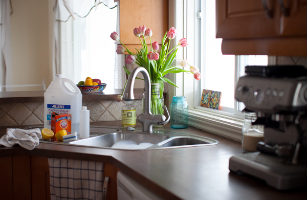 Spring Cleaning The Kitchen Homemade Lemonscented Allpurpose - Kitchen cleaner