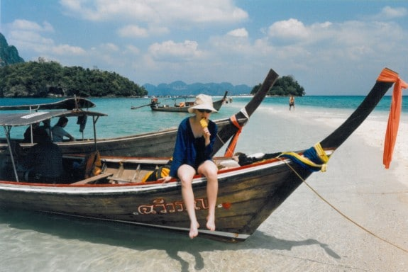 Aimee in Thailand