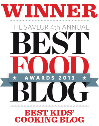 Saveur 2013 Food Blog Awards Badge