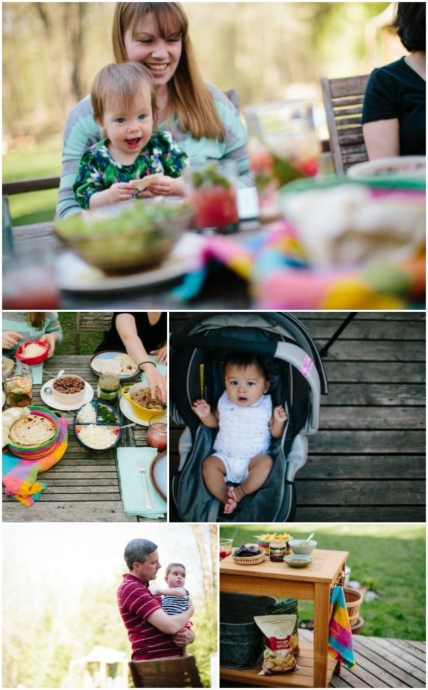 Pork carnitas party with kids on simplebites.net