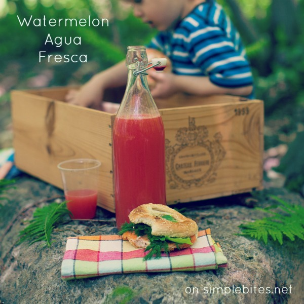 watermelon agua fresca on simplebites.net