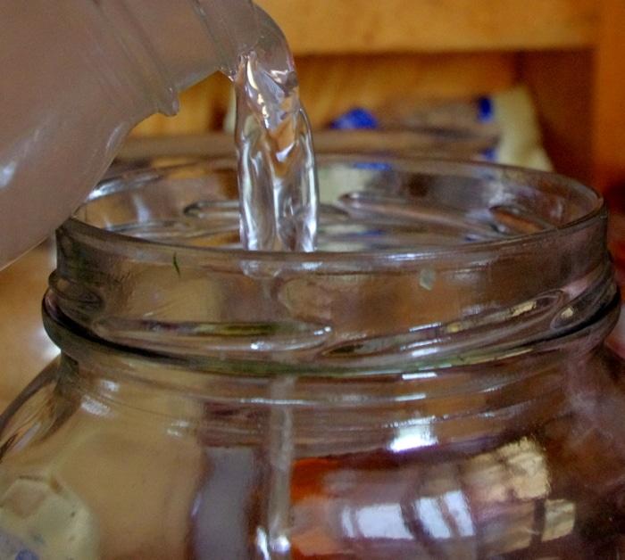Adding Liquid