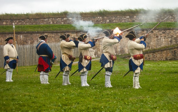 Solders firing at Louisburg-3