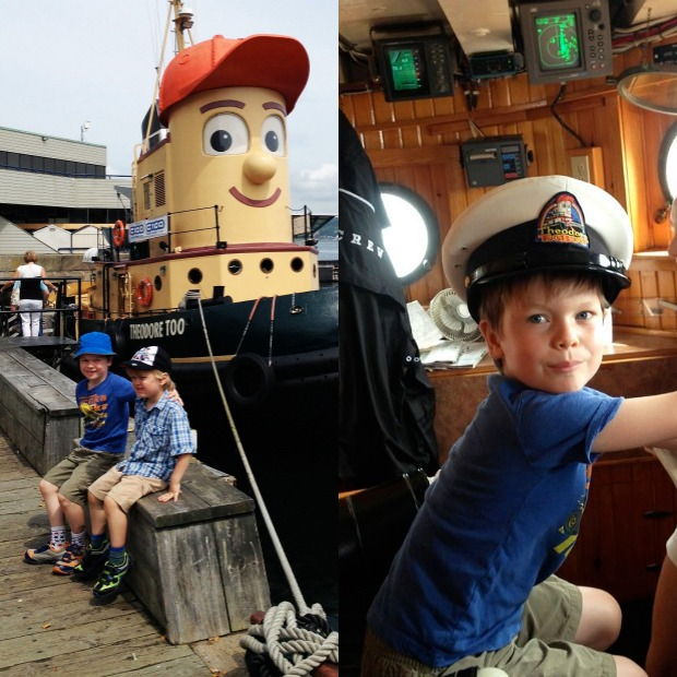 Theodore the Tugboat in Halifax, NS