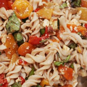 Veggie Pasta Salad Header