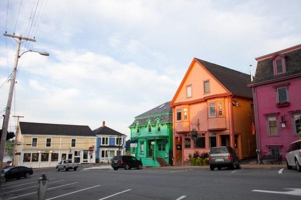 color of lunenburg, ns