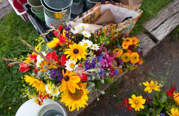 Lunenburg Market flowers