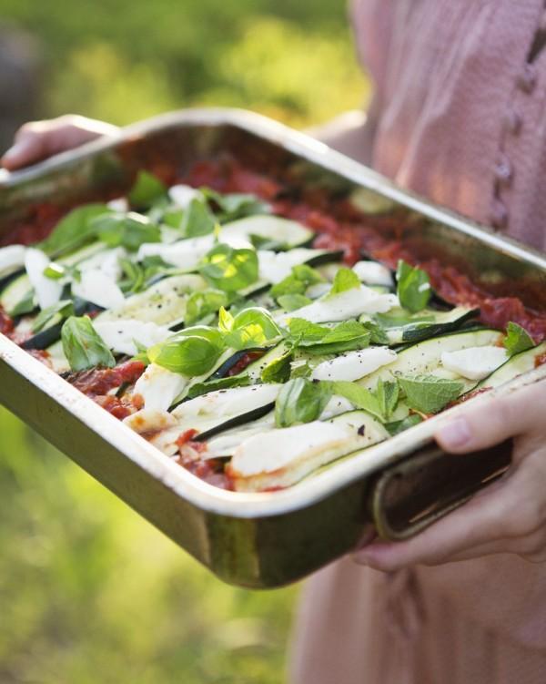 zucchini parmegiana from Green Kitchen Stories