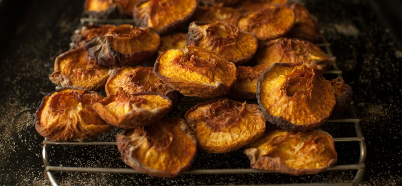 Preserving roasted peaches on simplebites.net