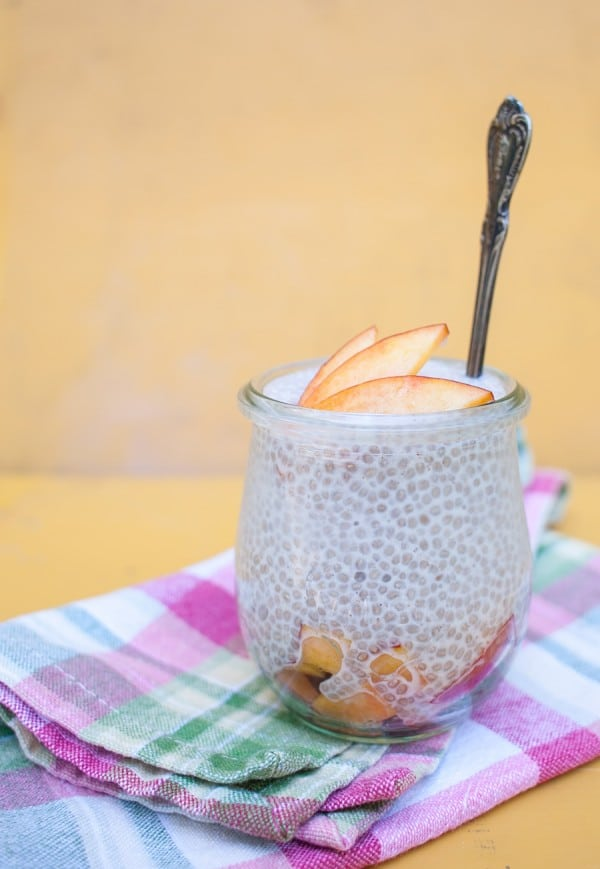Simple Chia Pudding on www.simplebites.net