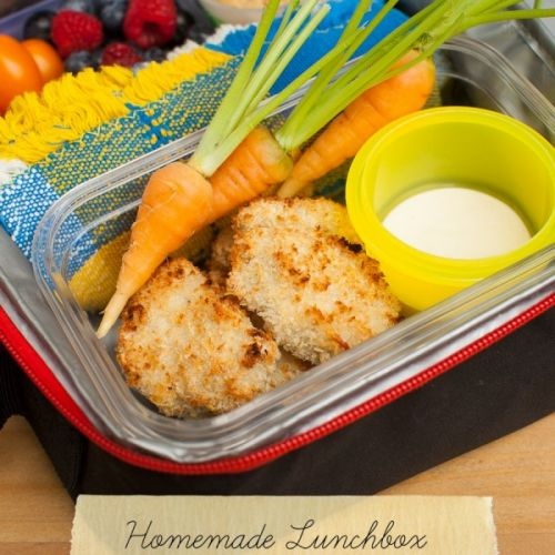 Nuggets Kcal: How To Make Homemade Lunchbox Chicken Nuggets