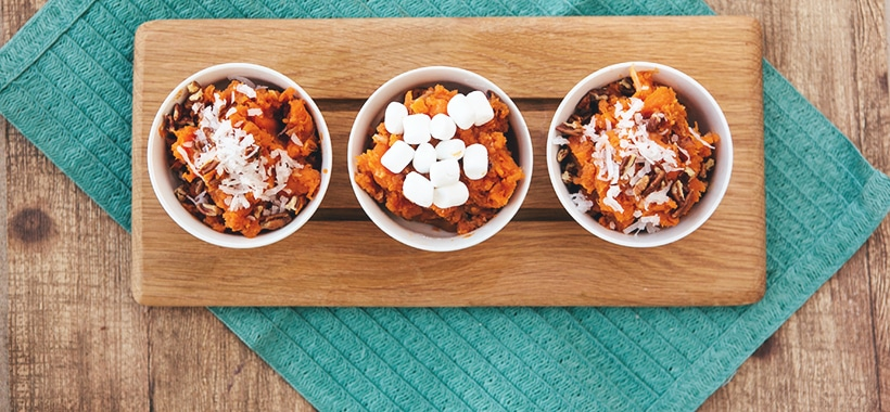 coconut pecan sweet potatoes 1