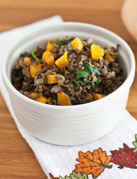 squash wild rice