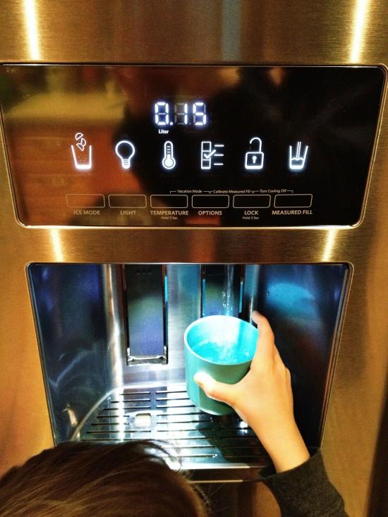 KitchenAid refrigerator automatic waterer