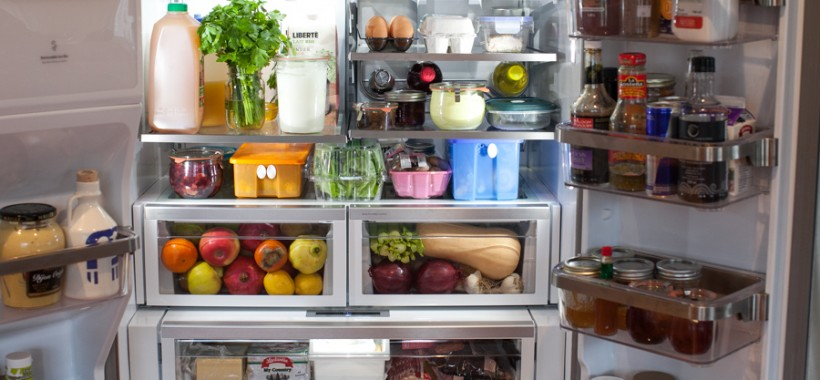 Tour My Kitchen Refrigerator And Freezer Organization Simple Bites