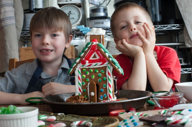 Kids in the kitchen: The after school gingerbread project outtakes