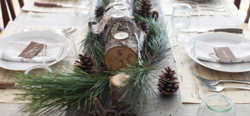 Christmas Dinner Tablescapes Christmas Tablescape on