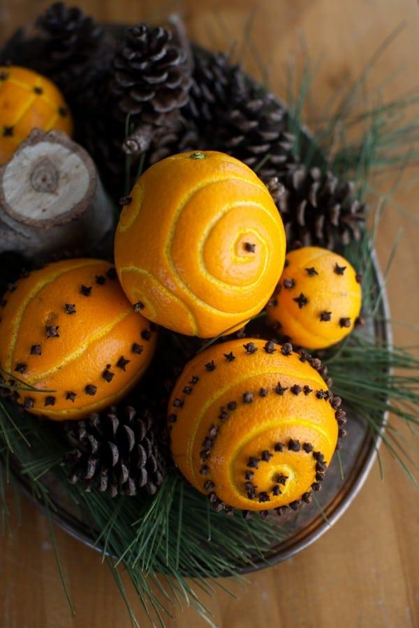 How to make spiced orange pomander balls - How To Make Spiced Orange Pomander Balls Simple Bites