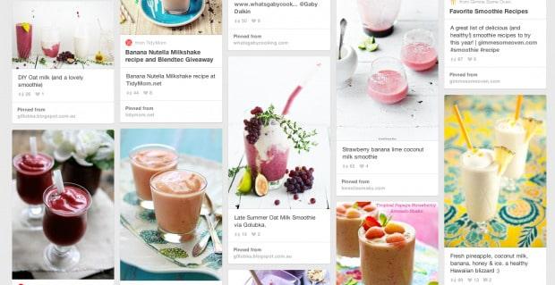 Smoothie Pinterest Board