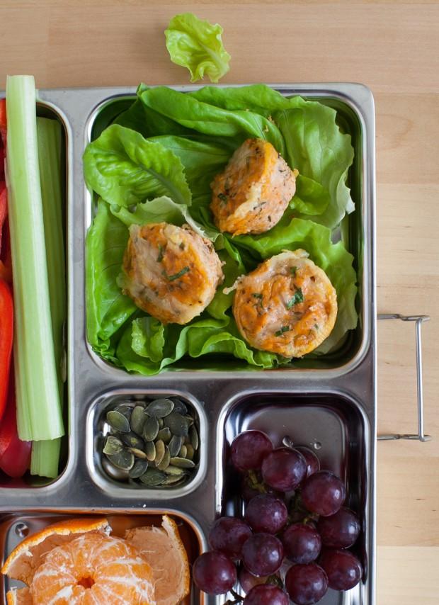 Tuna Cheddar Lunchbox Bites   Simple Bites #schoollunch #recipe #glutenfree