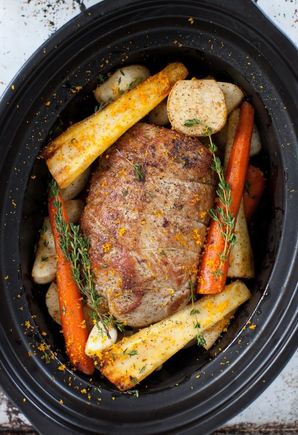 Veal Pot Roast with Root Vegetables (slow cooker)   Simple Bites #recipe #slowcooker #dinner #eatseasonal