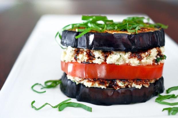 Nom Nom Paleo Eggplant Stack