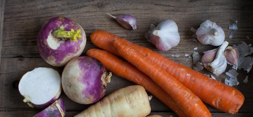 Vegetables for roast lamb