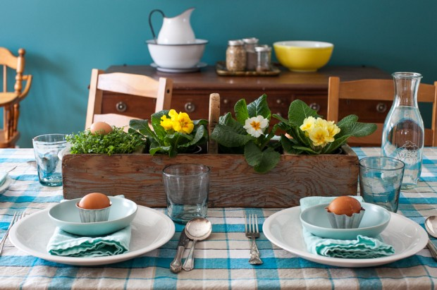 A simple Easter tablescape | Simple Bites