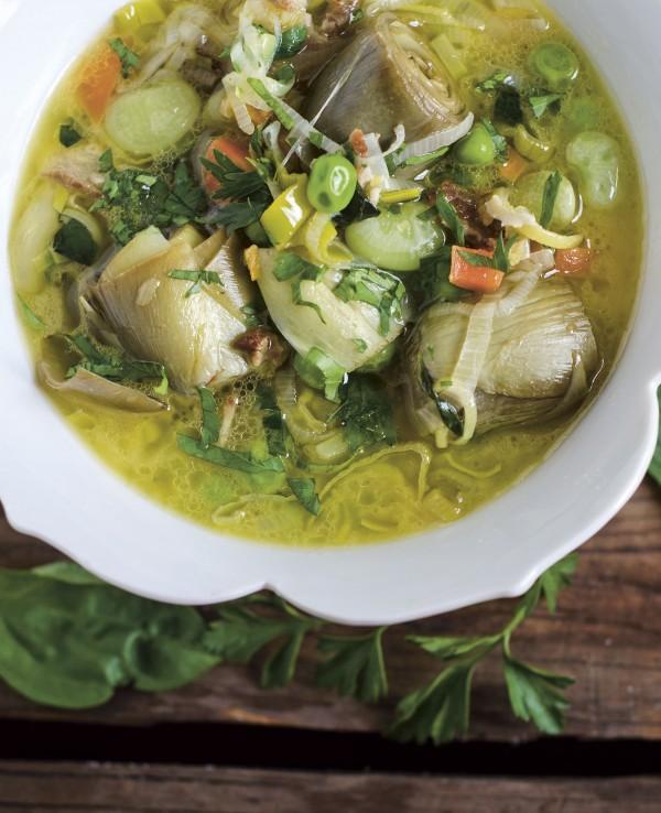 NKTN spring vegetable stew image p 45