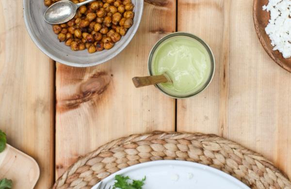 Tangy Avocado Dressing   Simple Bites #recipe #salad