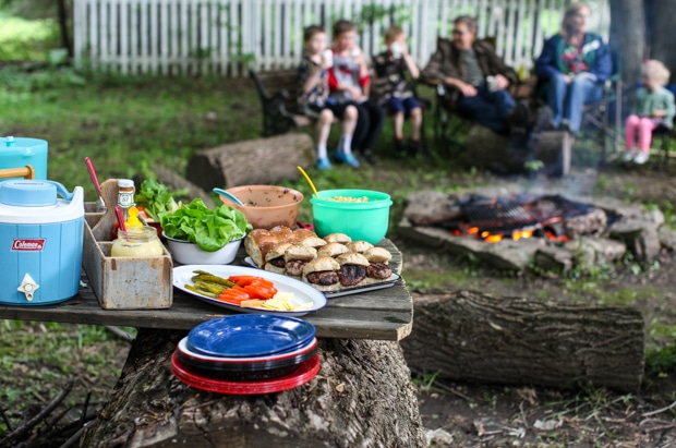 Tips for camping in the back yard | Simple Bites