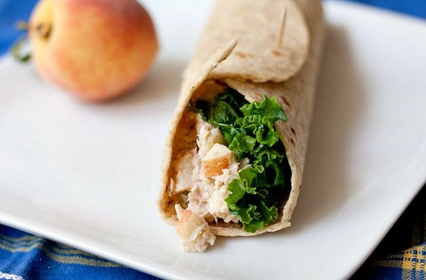 Tuna salad wrap  via stetted