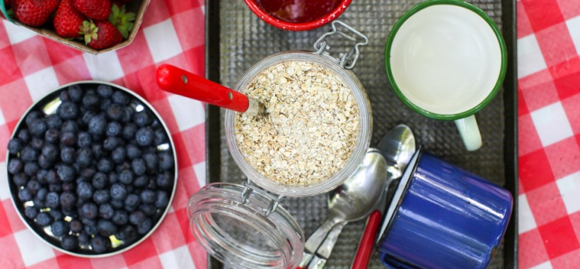 Homemade Instant Maple Oatmeal with Ground Chia Seed Recipe | Simple Bites #camping #breakfast
