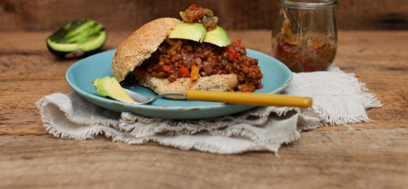 Vegan Lentil Sloppy Joes