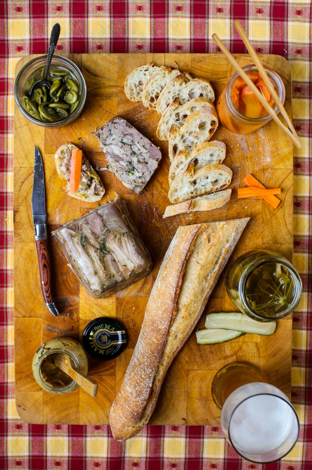 How to make head cheese | Simple Bites #charcuterie #diy