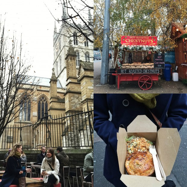 Borough Market Collage