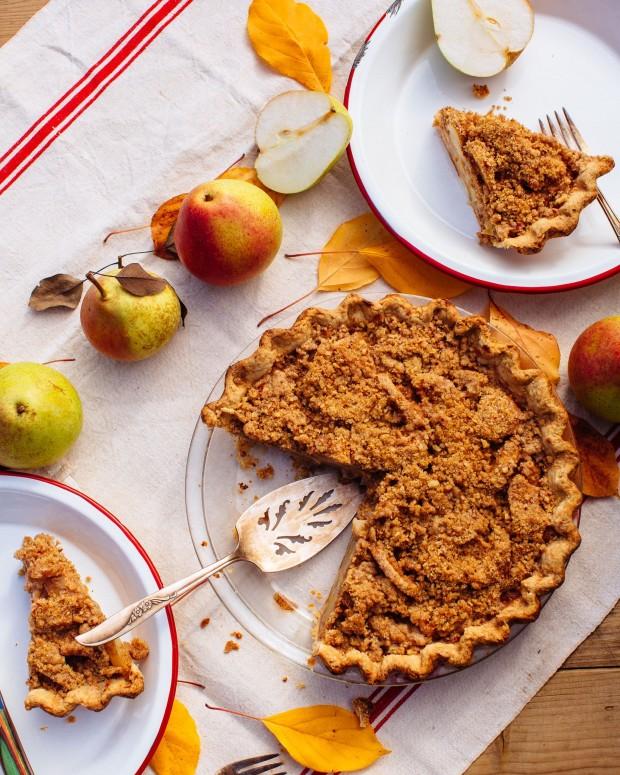 Pear Pie: Brown Eggs & Jam Jars