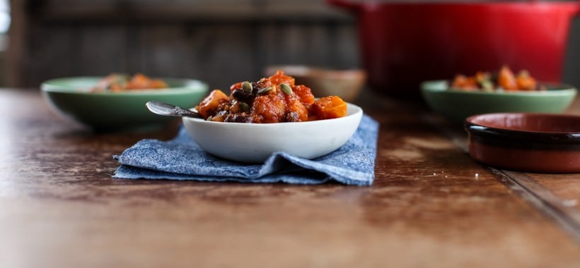 Vegan Black Bean & Sweet Potato Chili | Simple Bites #dinner #vegan