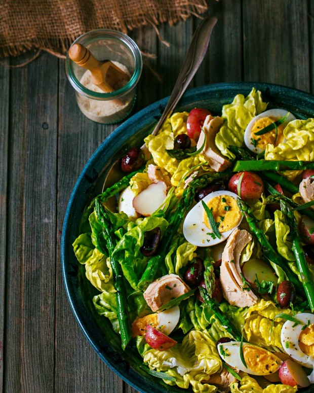Salad Nicoise from Brown Eggs & Jam Jars cookbook