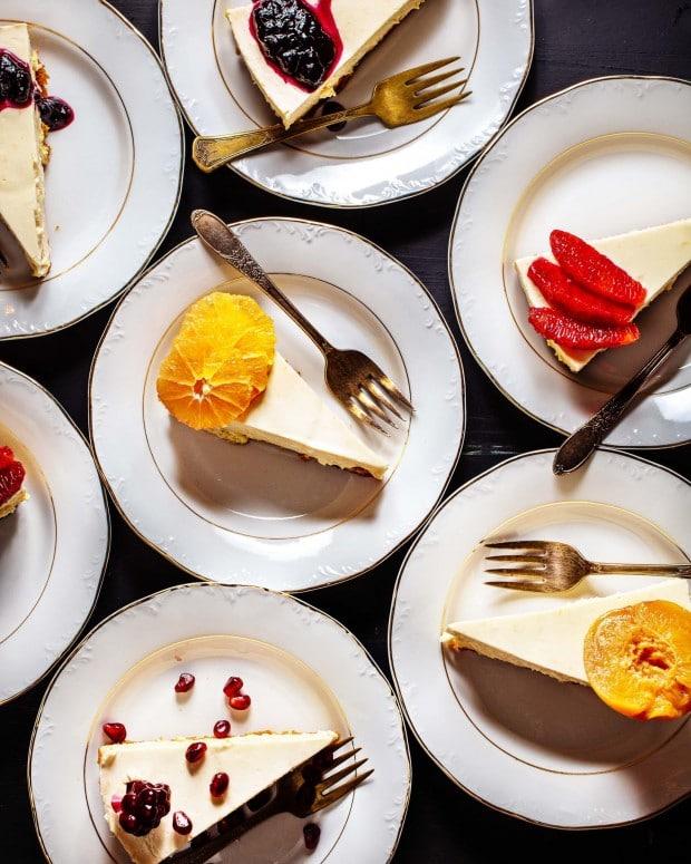 Citrus Cheesecake from Brown Eggs & Jam Jars cookbook