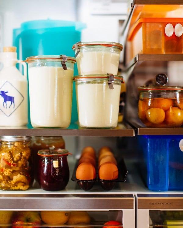 Homemade Yogurt from Brown Eggs and Jam Jars |Simple Bites | Photo by Tim Chin