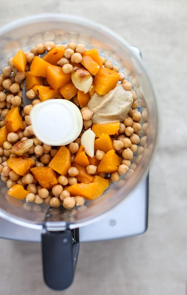 Roasted Turnip Hummus Recipe