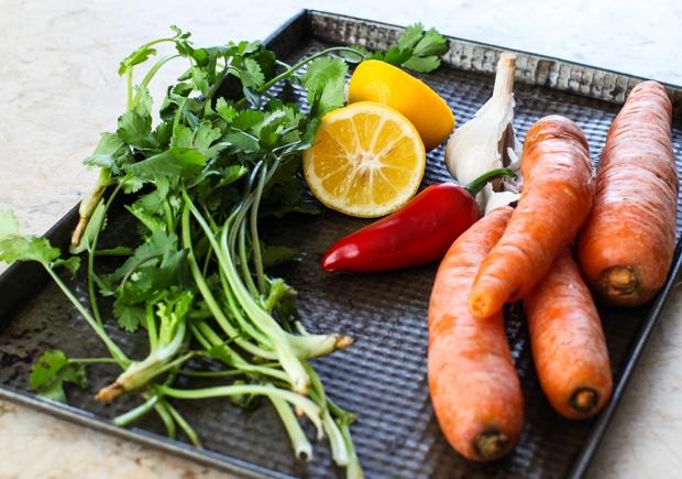 Carrot salad ingredients-1