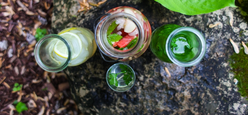 Three flavoured water recipes | Simple Bites #recipe