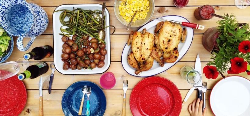 Family dinner on Simple Bites