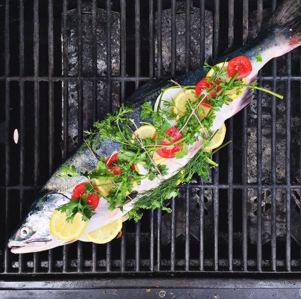 Prepared salmon for grill || Simple Bites