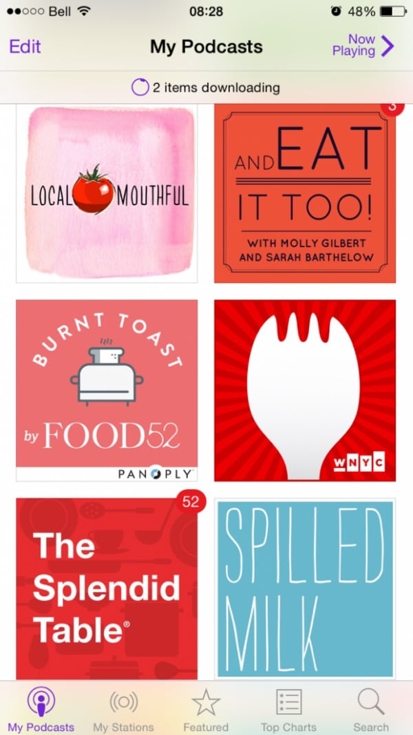 My favourite culinary podcasts | Simple Bites